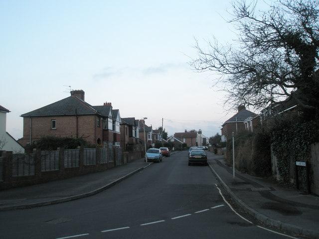 St James Road- church end