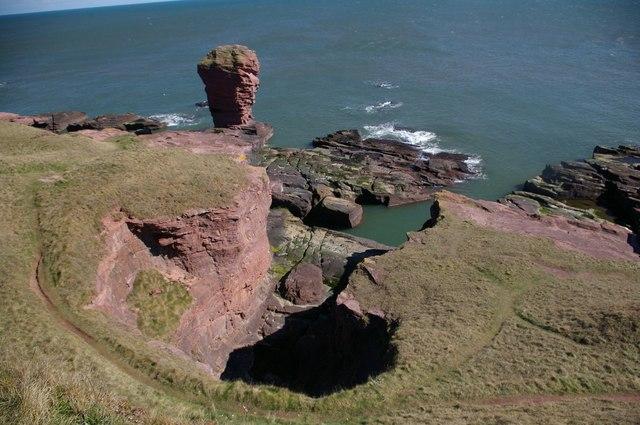 The Deil's Heid, Arbroath Cliffs