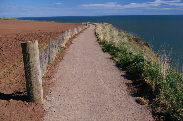 Coastal Path from Arbroath to Auchmithie