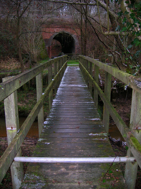 Bridges for Foot and Rail, Hornshurst Wood