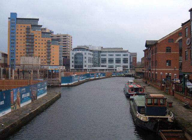 Canal-side Regeneration in Leeds