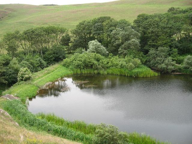 Dam at Mire Loch
