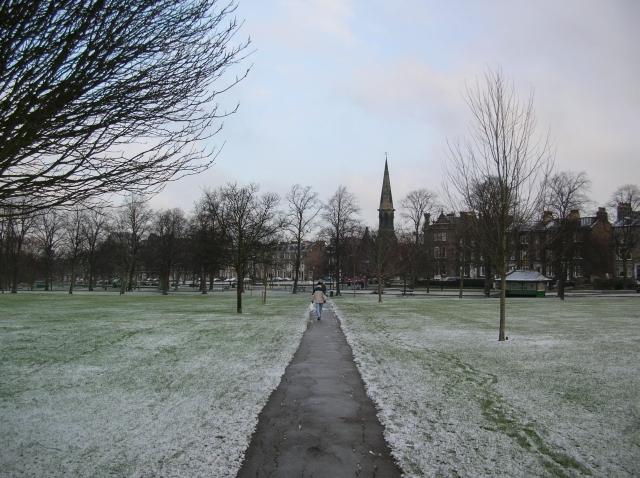 Looking towards West Park