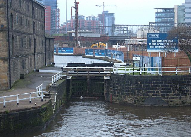 River Lock, Leeds City Centre