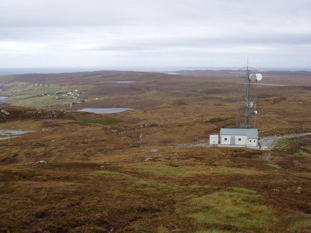 Transmitter Building on Meall an Fheadain