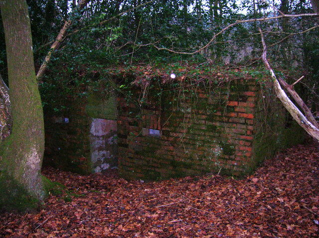 Pillbox A108, Old Lodge Warren