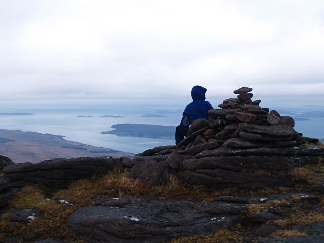 Summit Cairn, Sail Mhor