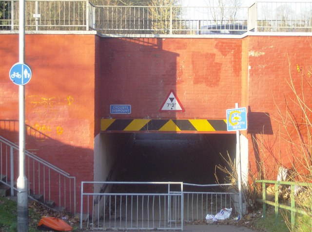 The controversial underpass