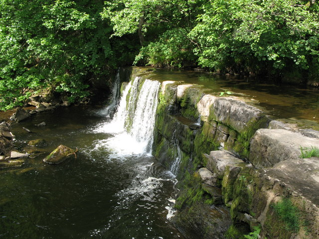 Waterfall on the River East Allen (2)