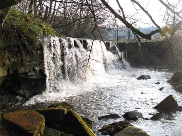 Waterfall on the River East Allen (3)