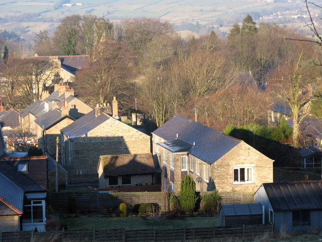 Rooftops in Allendale Town