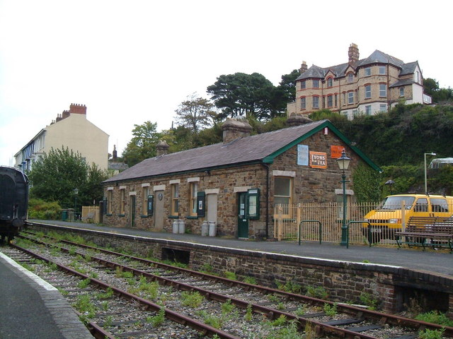 Bideford Railway Station.