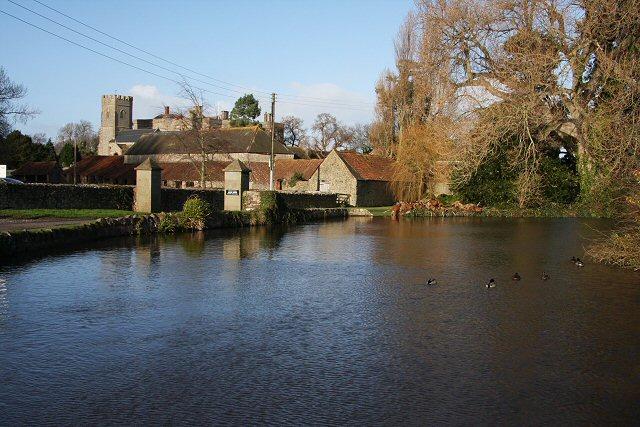Village pond, East Quantoxhead