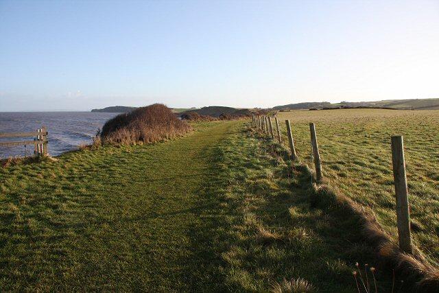 Footpath to Kilve Beach