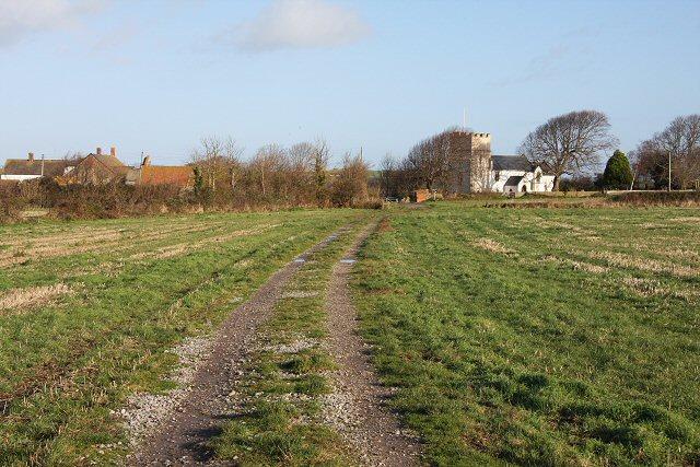 Footpath to Kilve Church