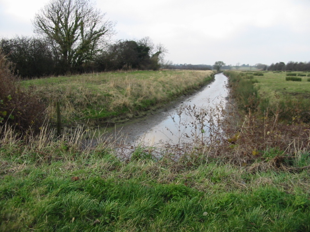 Drainage ditch at Cooper Street