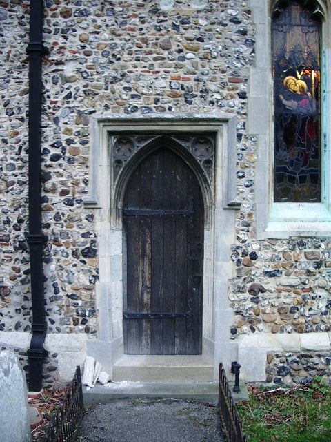 St  Mary's Church, Churchgate Street, Harlow, Doorway
