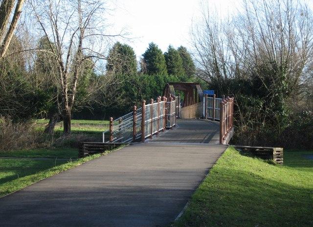 Footbridge over the Cam