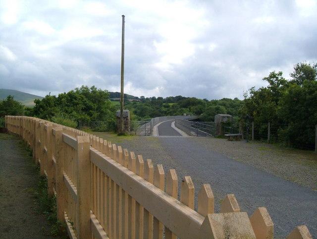 Meldon Viaduct.