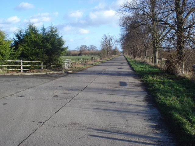 Old military road to Blackmore Camp