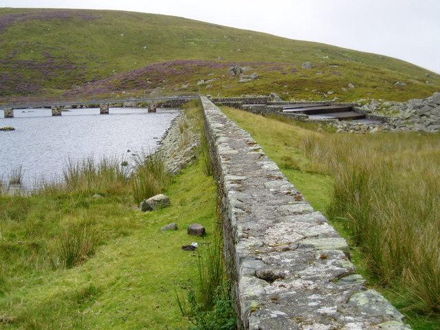 Llyn Anafon Dam