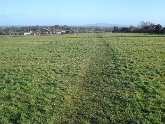 Path across Malvern Common