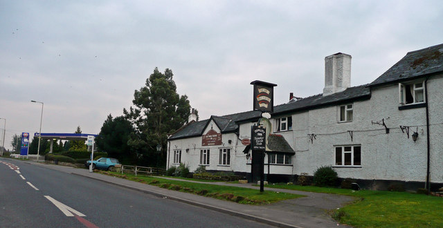 The Old Three Pigeons Inn, Nesscliffe