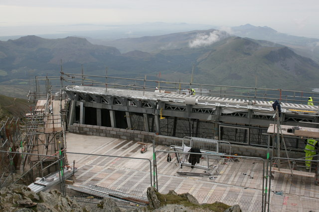 Snowdon Summit Cafe Construction