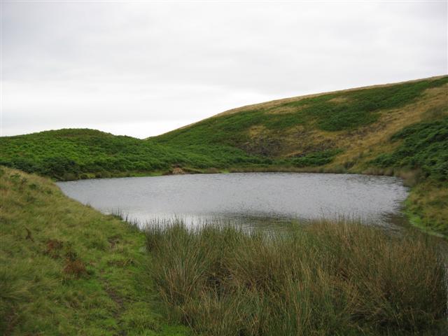 Dry Mere on Clegg Moor