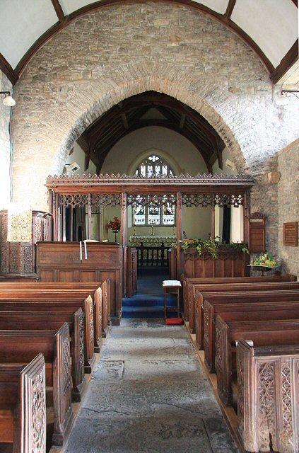 East Quantoxhead church interior