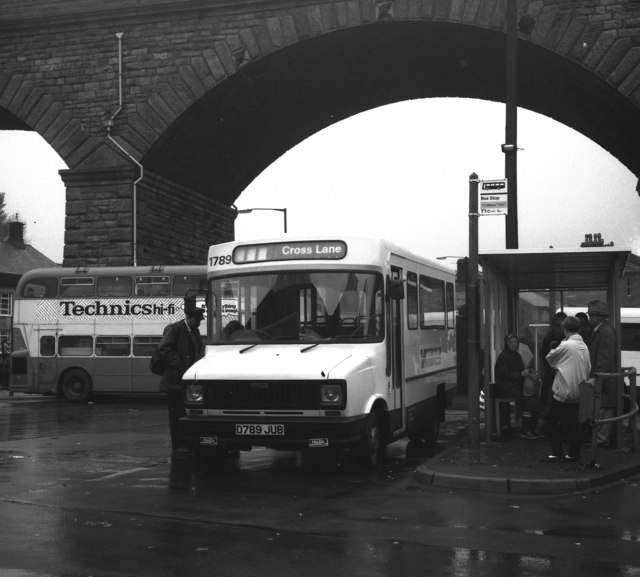 Todmorden bus station