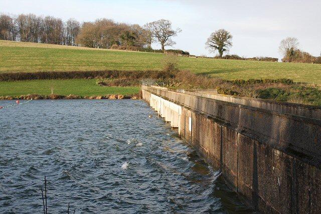 Hawkridge Reservoir dam
