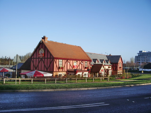 Toby Carvery, Edinburgh Gate, Harlow