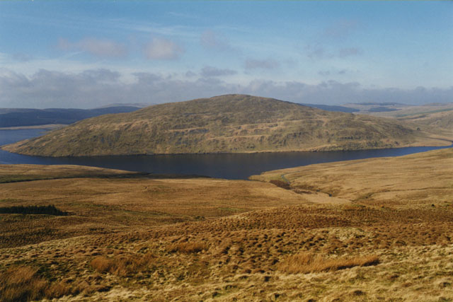 North west slopes of Y Garn
