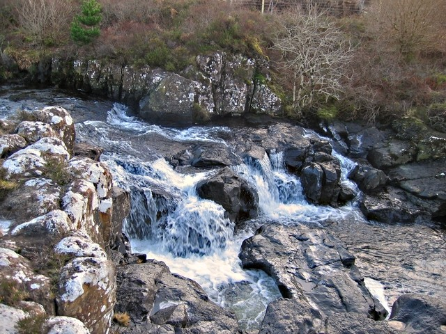 Waterfall on the River Hinnisdal