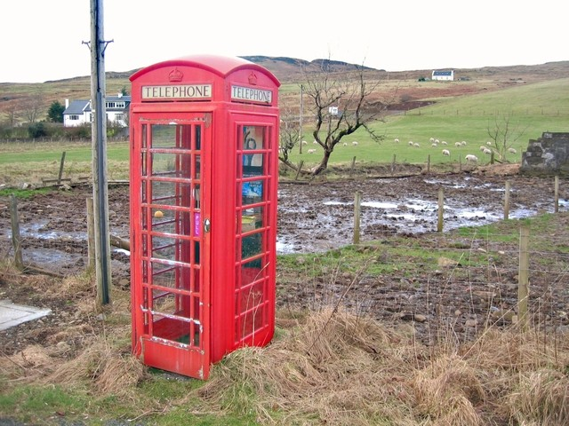 Telephone Box in Glen Hinnisdal
