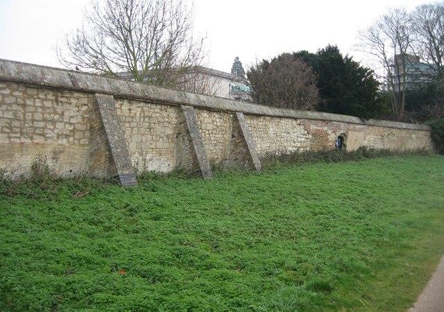 Fine brick wall