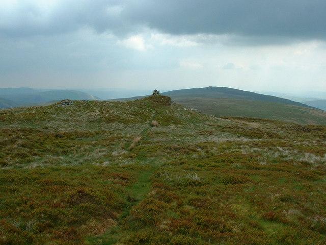 The summit of Post Gwyn
