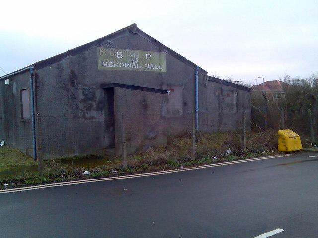 BP Memorial Hall, Dalmuir