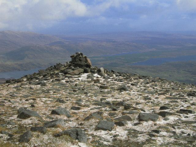 Cairn Near Summit of Cul Mor