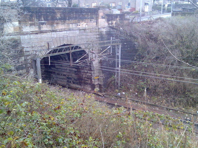 Duntocher Road railway tunnel