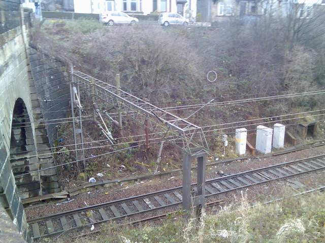 Railway lines and tunnel, Dalmuir