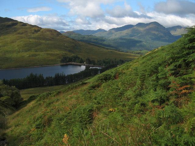 Hillside above Loch Arklet