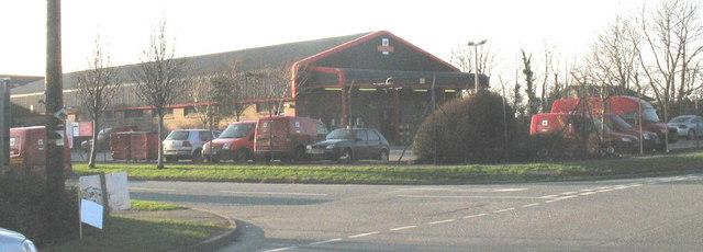 Royal Mail Depot, Cibyn Industrial Estate