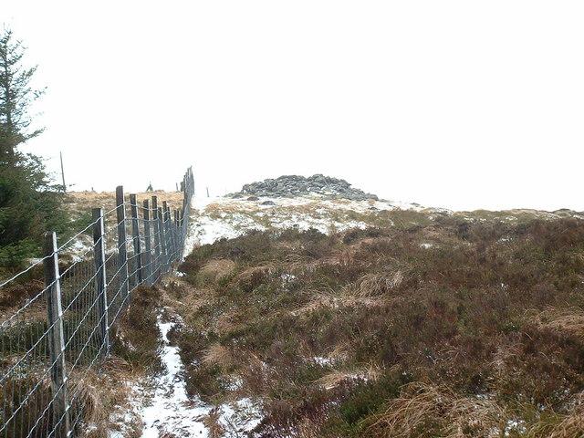 Cairn on Mynydd Tarw