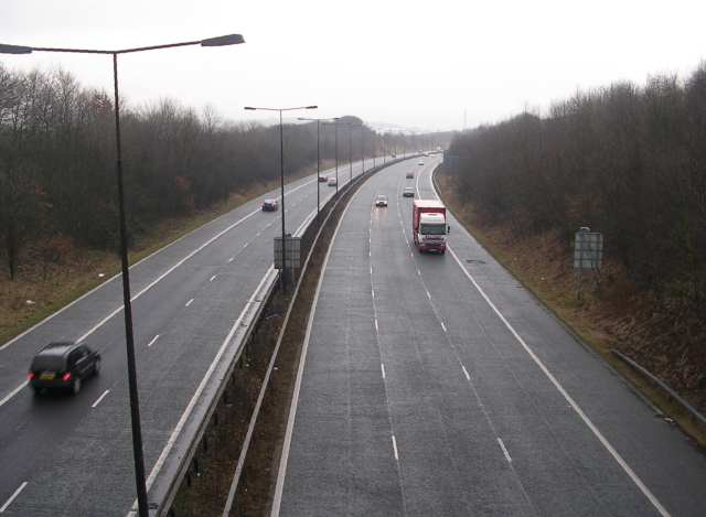 M621 Motorway from Asquith Avenue