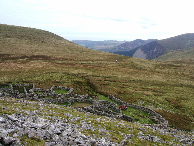 Sheepfold on Gyrn