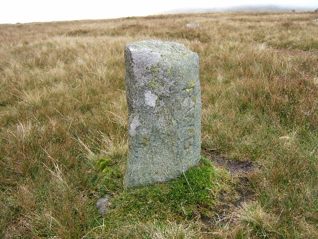Boundary Stone on the Carneddau