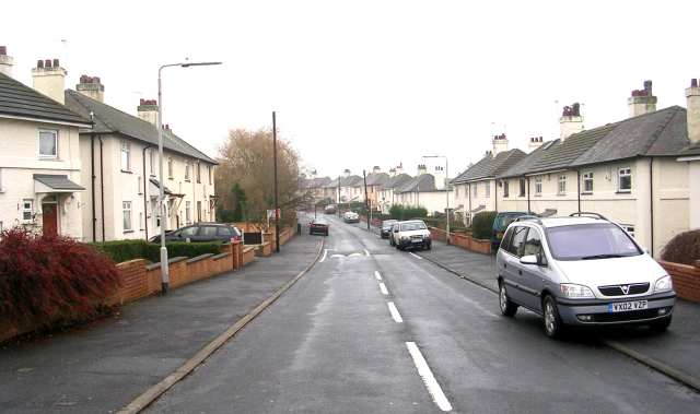 Wolley Avenue - Whitehall Road