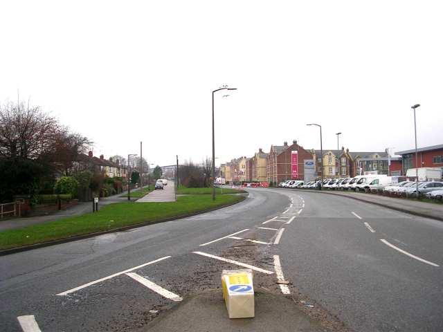 Whitehall Road from Ringways